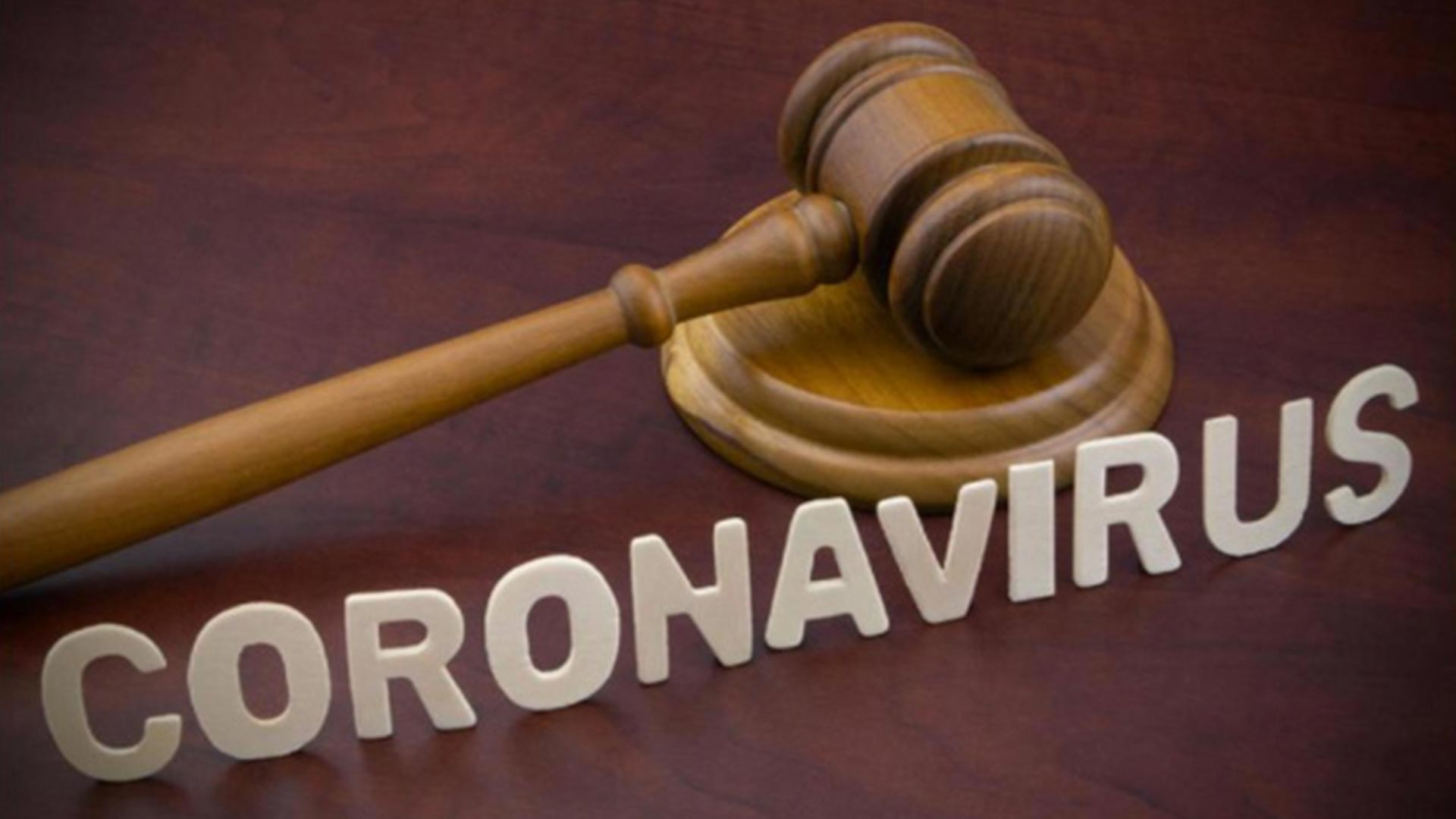 Coronavirus/Law